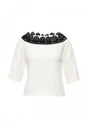 Блуза Piena. Цвет: белый