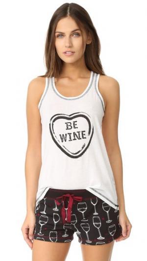 Вино-это мой топ Valentine PJ Salvage. Цвет: золотой
