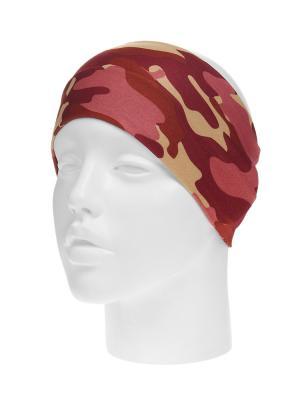 Повязка на голову Infiniti. Цвет: бордовый, бежевый