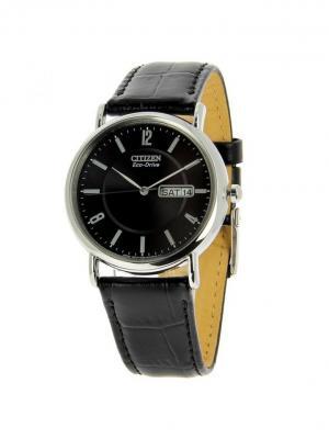 Часы BM8241-01EE CITIZEN. Цвет: черный, серебристый