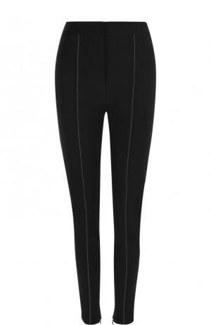 Однотонные брюки-скинни Altuzarra. Цвет: черный