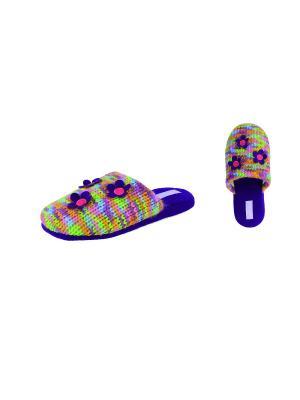 Тапочки De Fonseca. Цвет: салатовый, голубой, фиолетовый