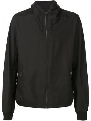 Куртка-ветровка с капюшоном Lanvin. Цвет: чёрный