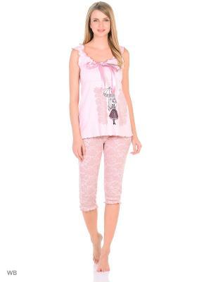 Пижама Flip. Цвет: розовый