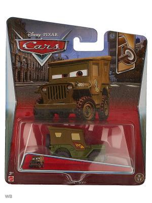 Машина Тачки 2 Mattel. Цвет: хаки, оливковый