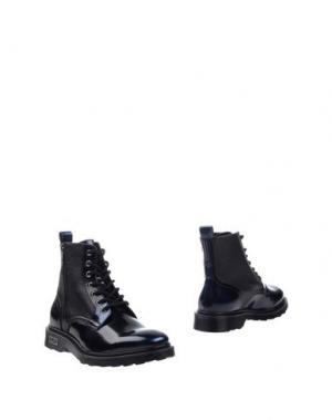 Полусапоги и высокие ботинки CULT. Цвет: темно-синий