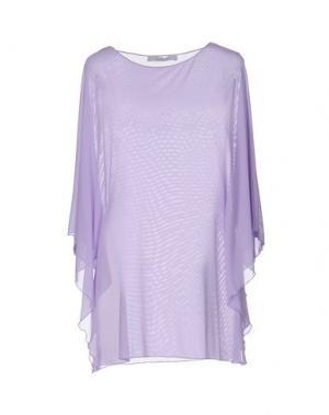 Блузка FISICO-CRISTINA FERRARI. Цвет: сиреневый