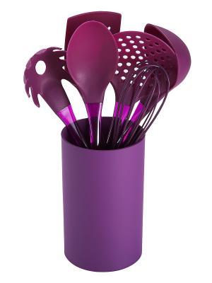 Набор кухонных принадлежностей BERGNER. Цвет: фиолетовый
