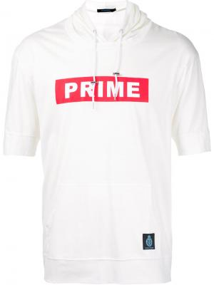 Футболка с капюшоном Prime Guild. Цвет: белый