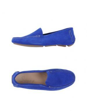 Мокасины SWAMP. Цвет: ярко-синий