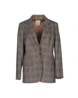 Пиджак GOLD CASE. Цвет: голубиный серый