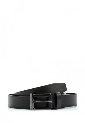 Ремень Burton Menswear London. Цвет: черный