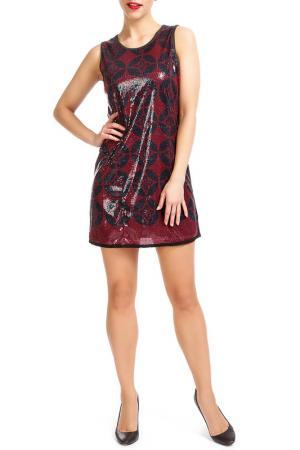 Платье Custo Barcelona. Цвет: красный