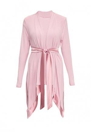 Халат домашний Petit Pas. Цвет: розовый