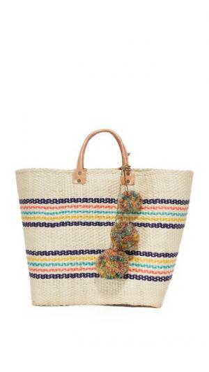 Объемная сумка Caracas с короткими ручками Mar Y Sol