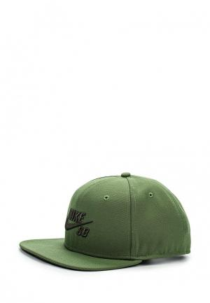 Бейсболка Nike. Цвет: зеленый