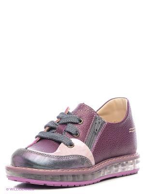 Ботинки TAPiBOO. Цвет: розовый, бордовый