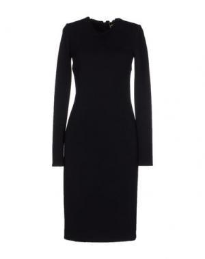 Платье до колена FAUSTO PUGLISI. Цвет: черный