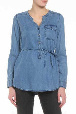 Рубашка ZERO. Цвет: синий
