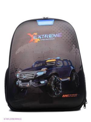 Рюкзак UNION. Цвет: черный, синий, оранжевый