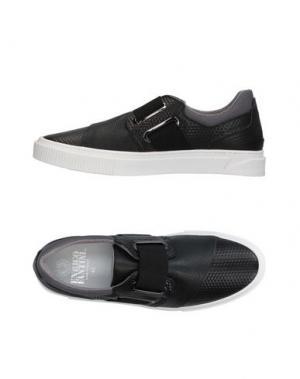 Низкие кеды и кроссовки ENRICO FANTINI. Цвет: черный