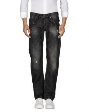 Джинсовые брюки (M) MAMUUT DENIM. Цвет: черный