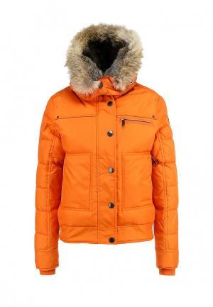 Пуховик Pajar. Цвет: оранжевый