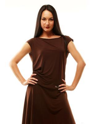Топ AltraNatura. Цвет: коричневый