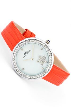Часы IBSO. Цвет: серебро, оранжевый