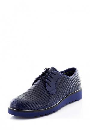 Ботинки Tonny Black. Цвет: синий