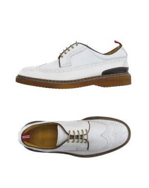 Обувь на шнурках GREEN GEORGE. Цвет: белый