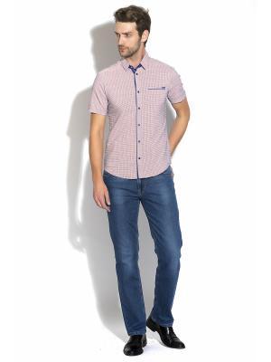 Рубашка Dairos. Цвет: оранжевый
