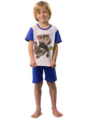 Пижама Talking Tom. Цвет: синий, белый