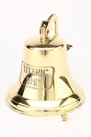 Колокол навесной Титаник Stilars. Цвет: золотой