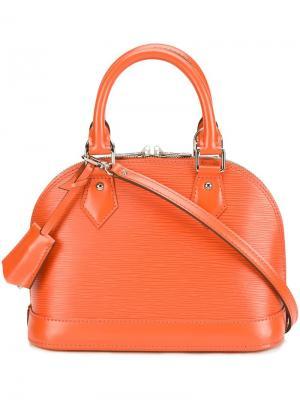 Сумка-тоут Alma BB Louis Vuitton Vintage. Цвет: жёлтый и оранжевый