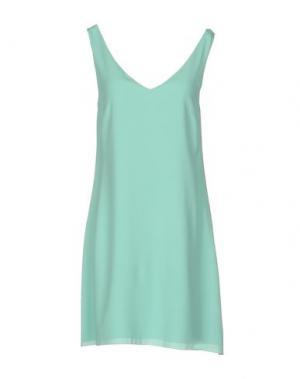 Короткое платье CARLA G.. Цвет: светло-зеленый