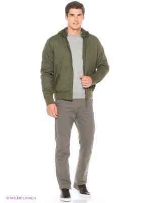 Куртка Colin's. Цвет: темно-зеленый