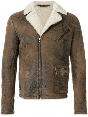 Куртка Ruggine Salvatore Santoro. Цвет: коричневый