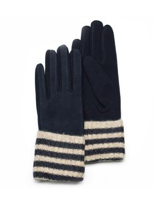 Перчатки Mellizos. Цвет: синий