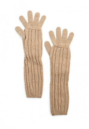 Перчатки Baon. Цвет: бежевый