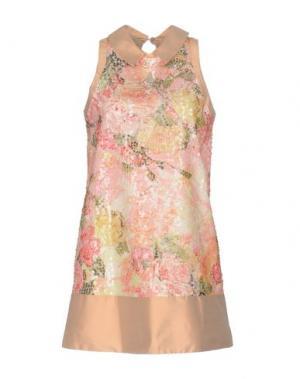 Короткое платье ADELE FADO QUEEN. Цвет: телесный