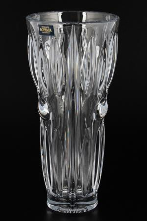 Ваза 23 см Crystalite Bohemia. Цвет: прозрачный