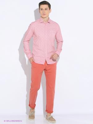 Рубашка Men of all nations. Цвет: розовый