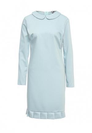 Платье Atelier Revolver. Цвет: голубой