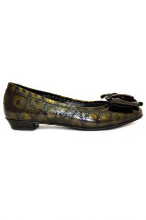 Туфли Rodolfo Valeri. Цвет: черный, темно-зеленый