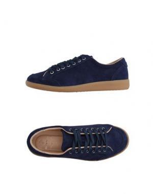 Низкие кеды и кроссовки LUIGI BORRELLI NAPOLI. Цвет: темно-синий