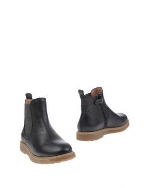 Полусапоги и высокие ботинки UNISA. Цвет: темно-синий