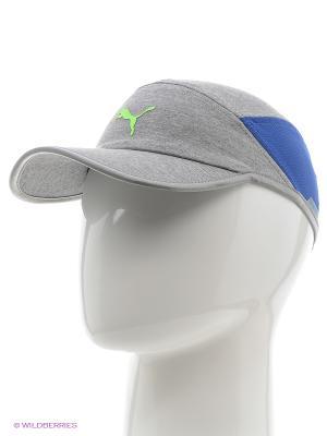 Бейсболка PWRCool cap Puma. Цвет: серый