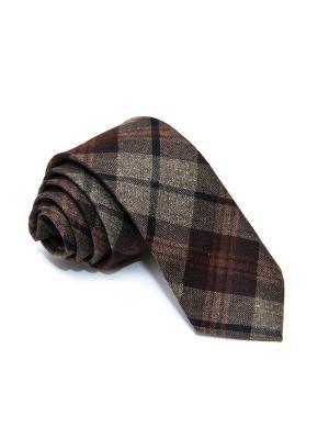 Галстук Churchill accessories. Цвет: бежевый, желтый, коричневый