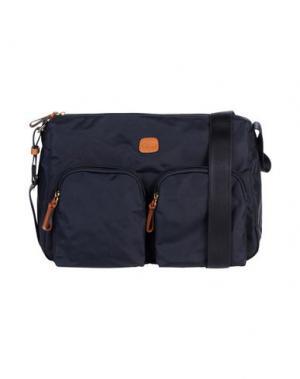 Деловые сумки BRIC'S. Цвет: темно-синий